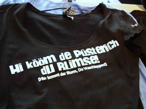 Elbeflock-Style Hi kömm de Püsterich du Blimse