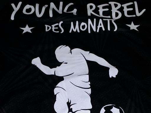 FC St. Pauli Fußballschule Rabauken T-Shirt Young Rebel des Monats
