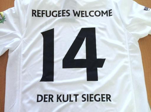 Trikot Refugees Welcome Der Kult Sieger